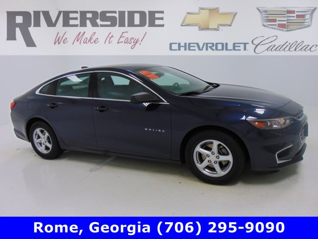 Certified Pre-Owned 2016 Riverside Certified Chevrolet Malibu LS