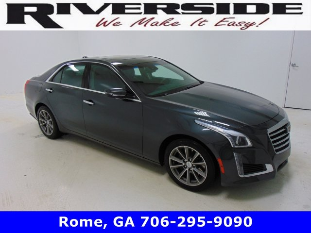 Certified Pre-Owned 2018 Cadillac CTS Sedan Luxury RWD