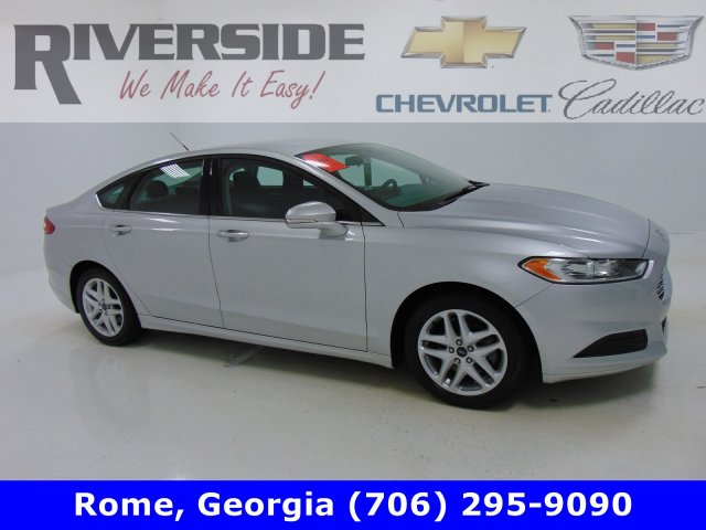Certified Pre-Owned 2016 Riverside Certified Ford Fusion SE