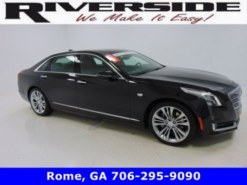 Certified Pre-Owned 2018 Cadillac CT6 Platinum AWD