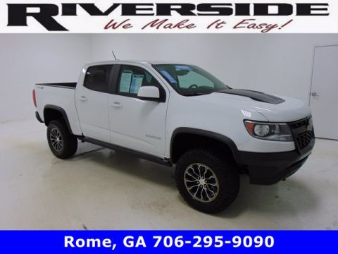 Pre-Owned 2018 Chevrolet Colorado 4WD ZR2 4WD Crew Cab Pickup