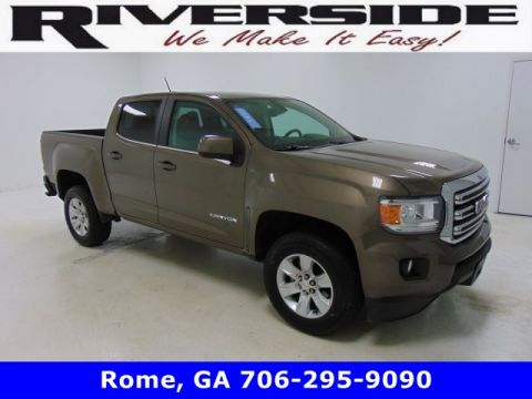 Pre-Owned 2017 GMC Canyon 2WD SLE RWD Crew Cab Pickup