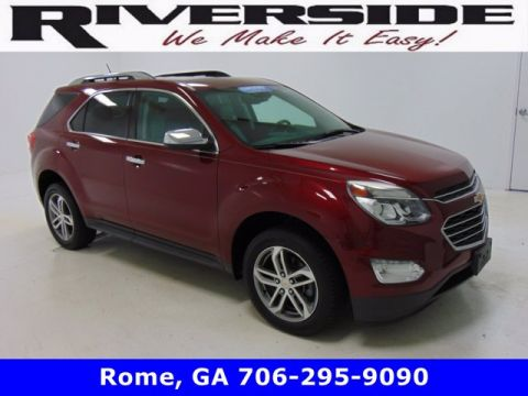 Pre-Owned 2017 Chevrolet Equinox Premier FWD Sport Utility