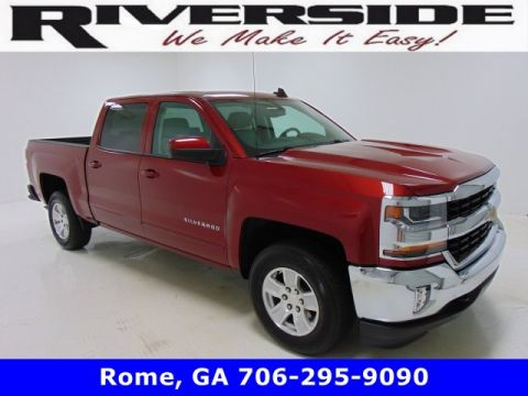 Certified Pre-Owned 2018 Chevrolet Silverado 1500 LT